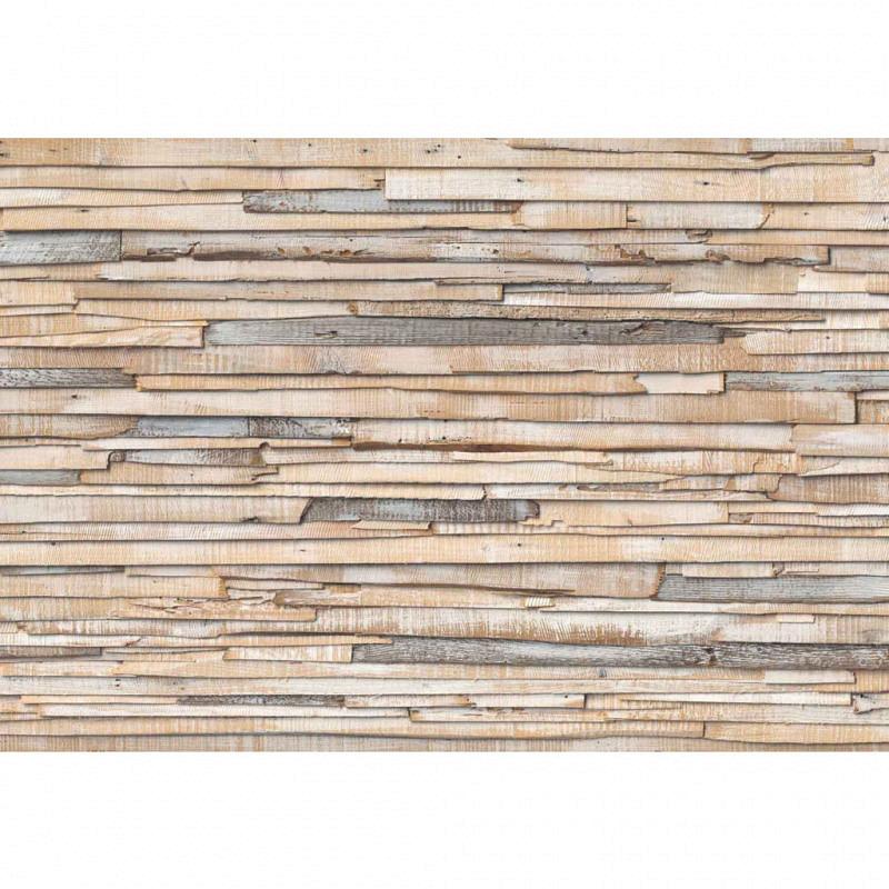 Fototapete gebleichtes Holz