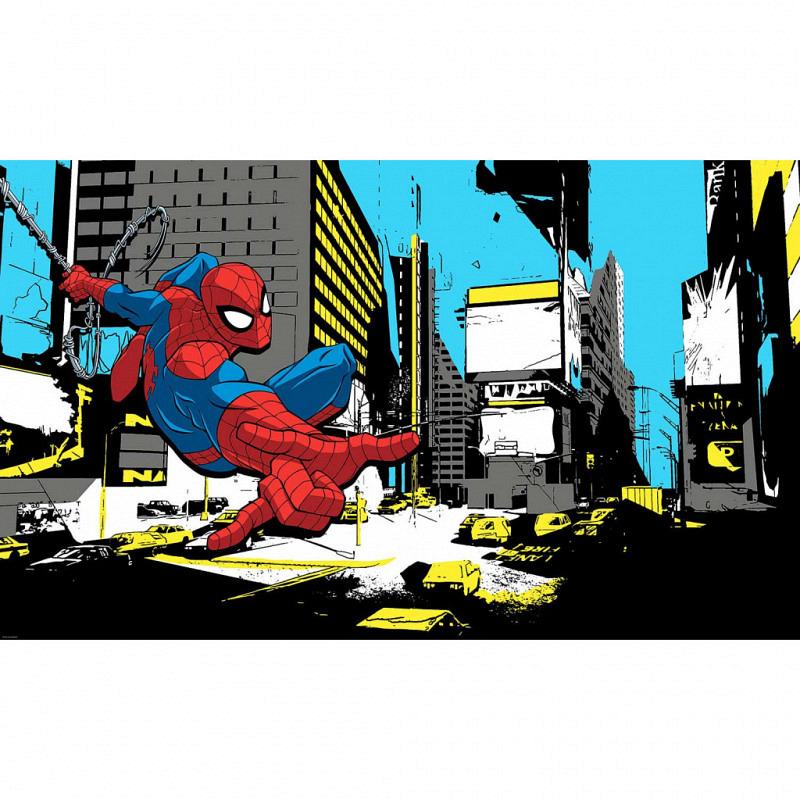 RoomMates Fototapete Spiderman Wandbild