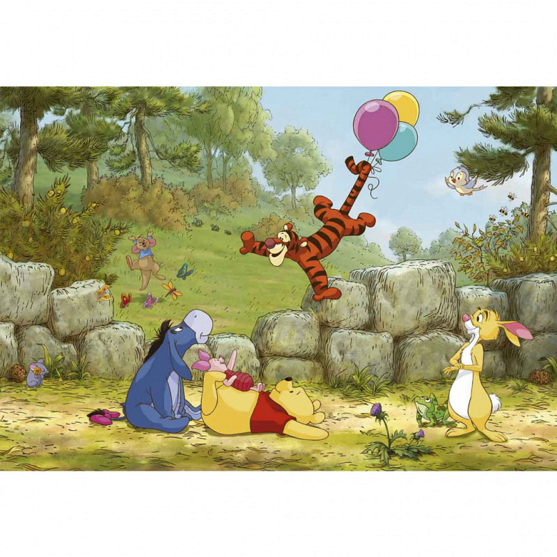 Fototapete Winnie Pooh Luftballon