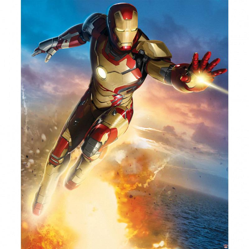 Fototapete Kinderzimmer Iron Man