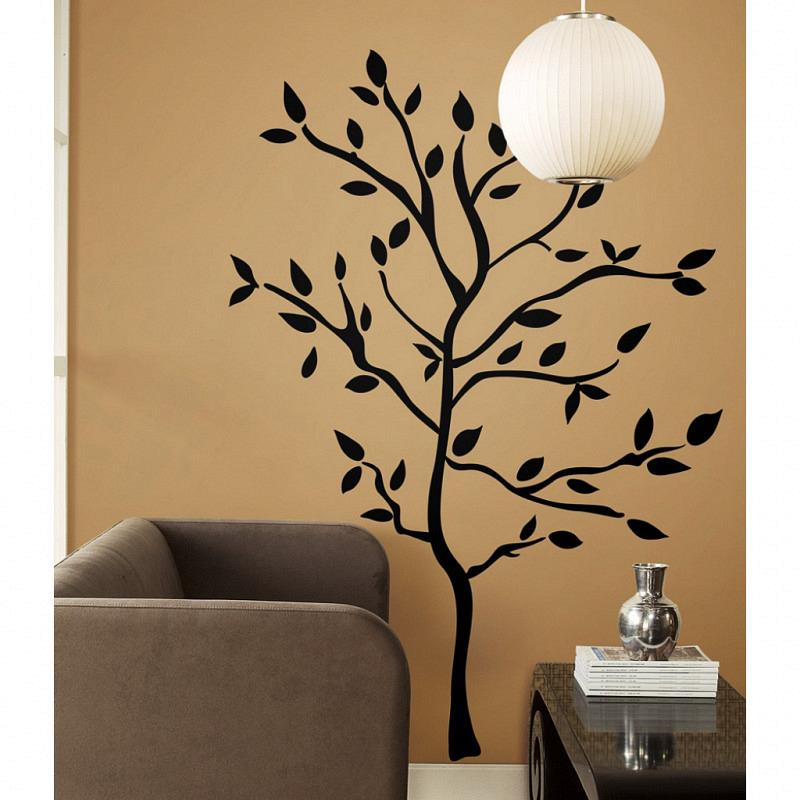 RoomMates Wandbild Wandsticker Baum