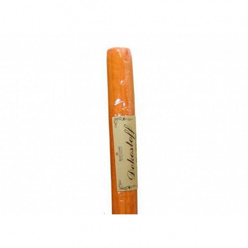Organza-Dekostoff orange 200x40cm Tischdeko
