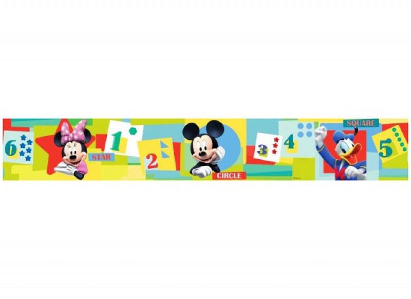 Bordüre Disney Mickey Mouse Zahlen