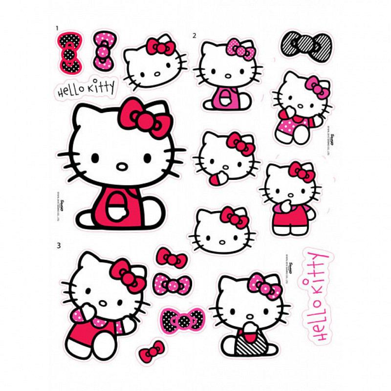 Kinderzimmer Wandsticker Hello Kitty