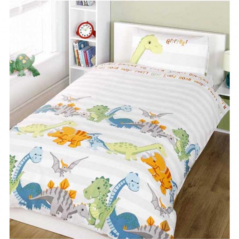 Bettgarnitur Dinosaurier Babyzimmer