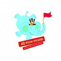 Funtosee wandsticker mr giggles zirkus wandsticker deko set - Funtosee wandsticker ...