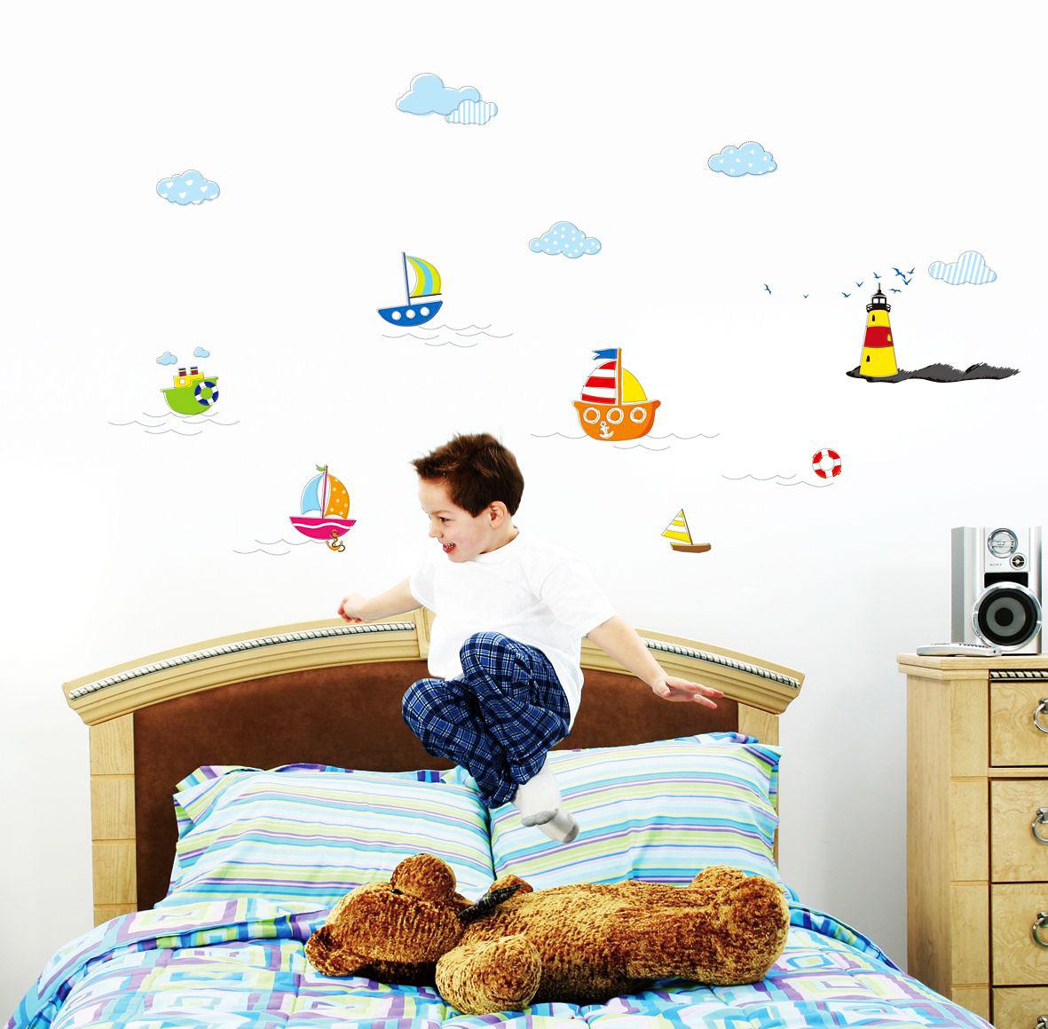 Wandtattoo Kinderzimmer Leuchtturm ~ Die beste Idee Idee für ...