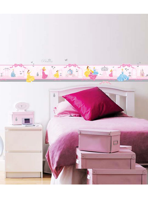 kinderzimmer bord re disney princess 110 sticker. Black Bedroom Furniture Sets. Home Design Ideas