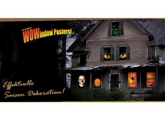 Wowindow Poster Fensterbild Hexe Feeny Ca 90x150cm