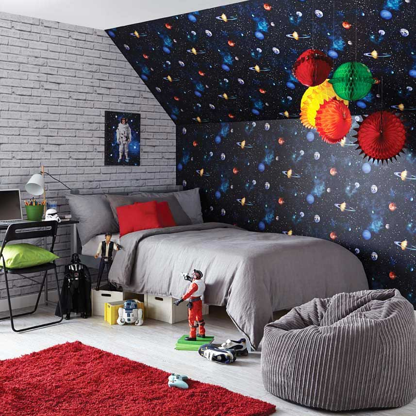 arthouse tapete planeten sterne sonnensystem weltall 3d www 4. Black Bedroom Furniture Sets. Home Design Ideas