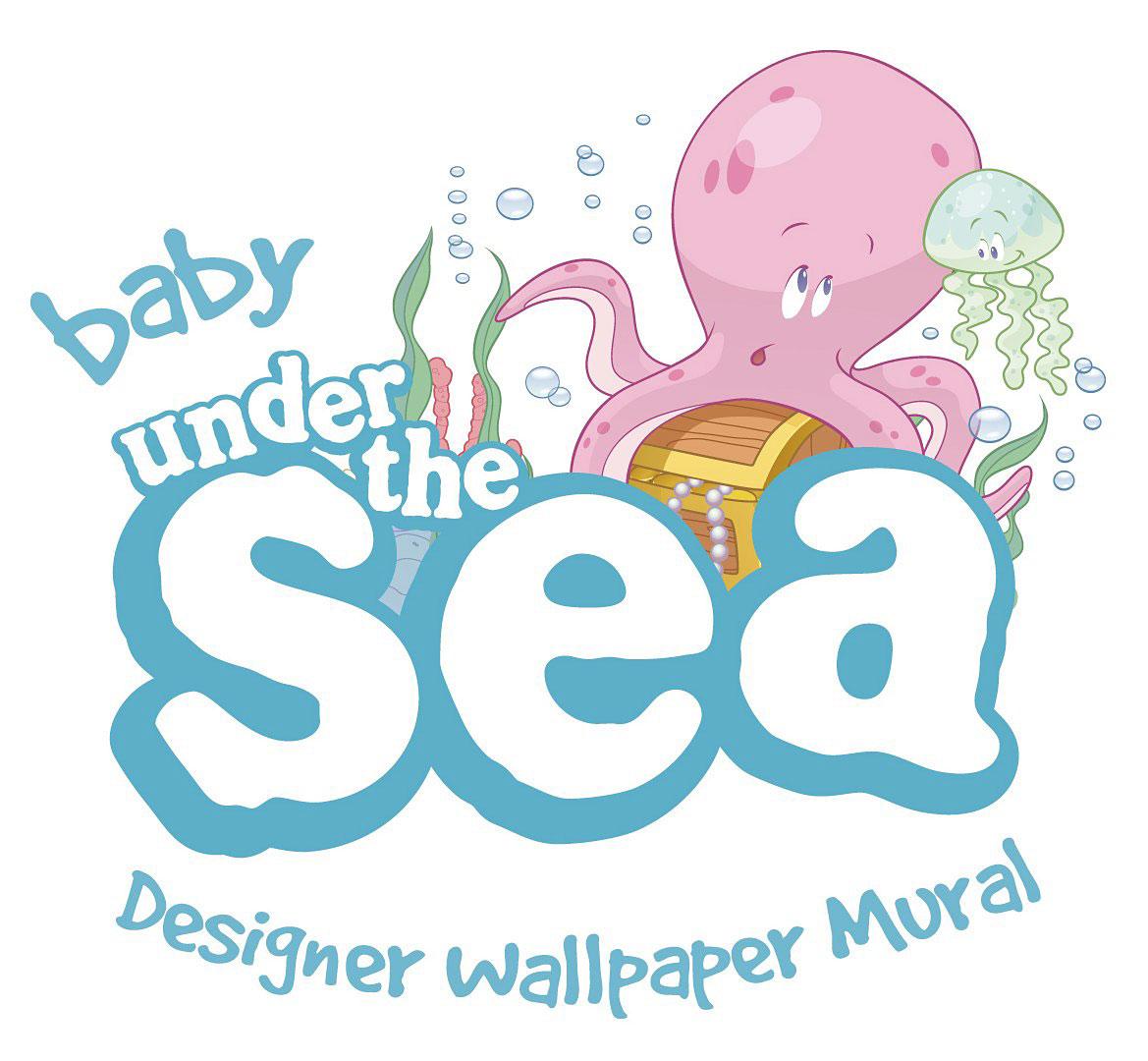 Fototapete Unterwasserwelt : Fototapete Wandbild Baby Unterwasserwelt Fische Under the Sea Delfine