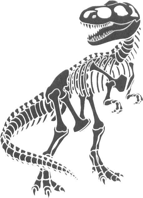3d wandtattoo dinosaurier t rex wandsticker nachtleuchtend - Wandtattoo dinosaurier ...