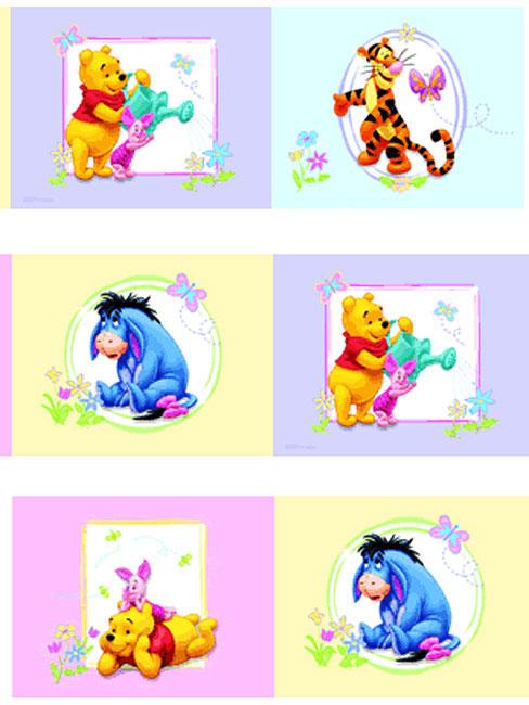 Stanza dei bambini decorazione disney winnie the pooh 100 acre wood baby camera 17 99 1m ebay - Babyzimmer winnie pooh ...
