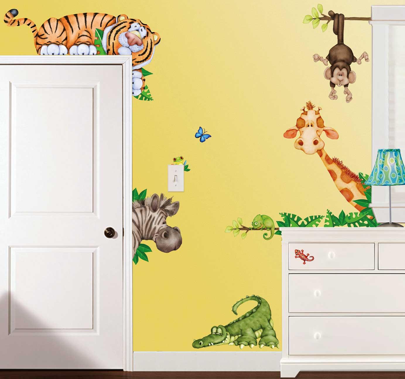 wandtattoo kinderzimmer tiere | jtleigh - hausgestaltung ideen, Schlafzimmer design