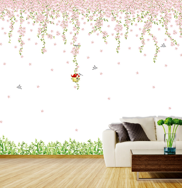 Selbstklebende Tapete Gras : Lass Deiner Fantasie freien Lauf und gestalte Deine W?nde wie einen