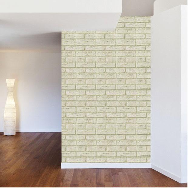 Tapete selbstklebend dekofolie wei hellgrauer stein vinyl for Dekofolie selbstklebend