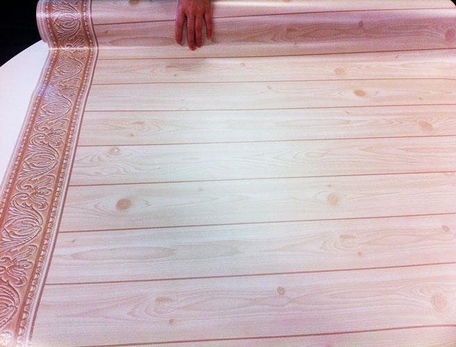 Selbstklebende Tapeten Holz : Wandtapete Dekorfolie Holz hellbraun – selbstklebend und abwischbar