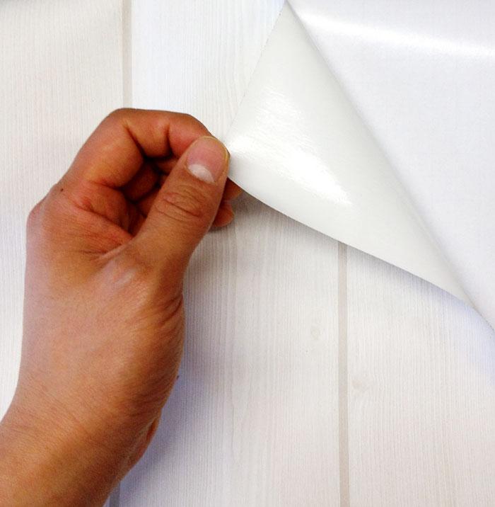 Holz tapete weiß  Hyundae Sheet Tapete selbstklebend Dekofolie Möbelfolie Holz ...