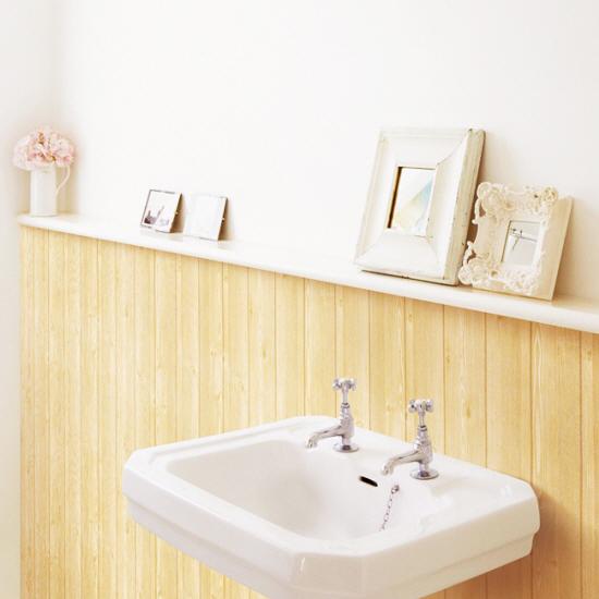 tapete selbstklebend dekofolie holz paneel hellbraun www. Black Bedroom Furniture Sets. Home Design Ideas