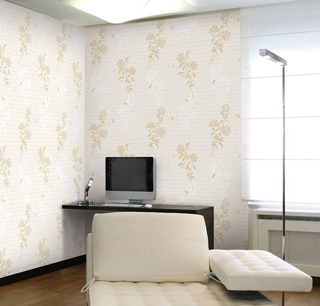 tapete selbstklebend bl tenstrau cremebeige blumen bl ten. Black Bedroom Furniture Sets. Home Design Ideas