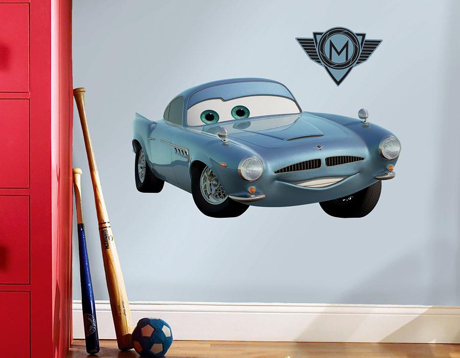 Roommates wandsticker finn mcmissile disney pixar cars - Cars wandsticker ...