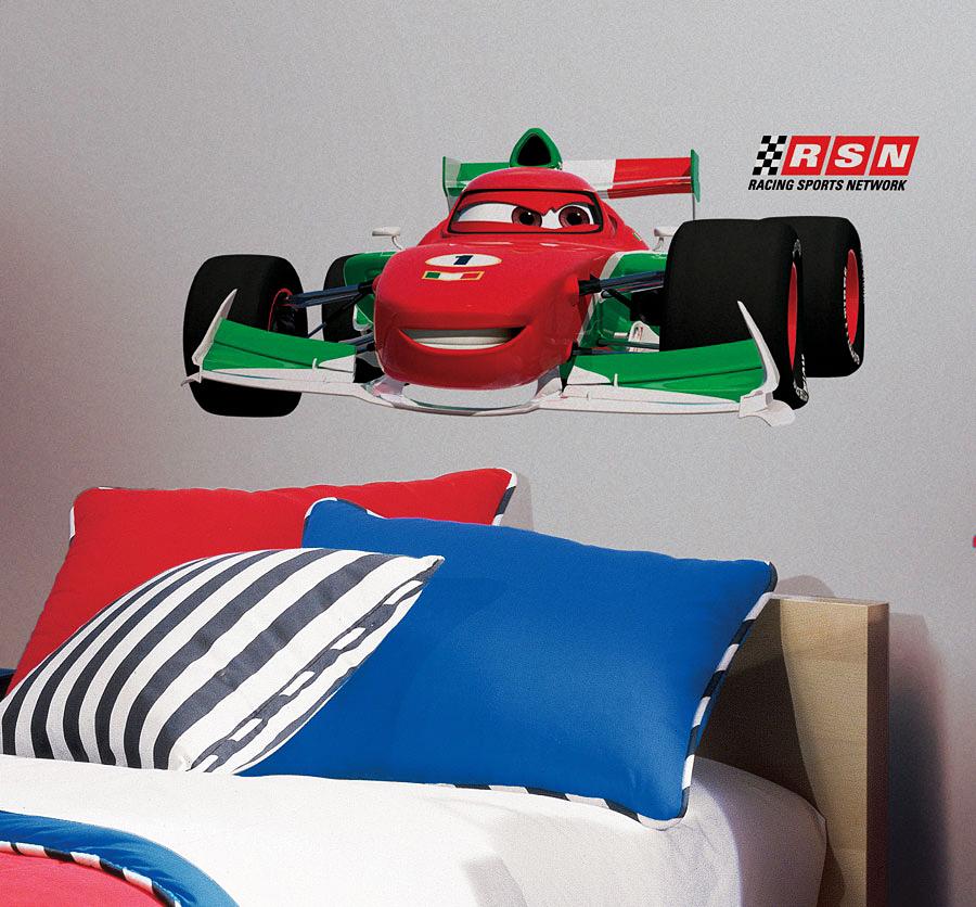 Roommates wandsticker francesco bernoulli disney pixar cars - Wandtattoo cars ...