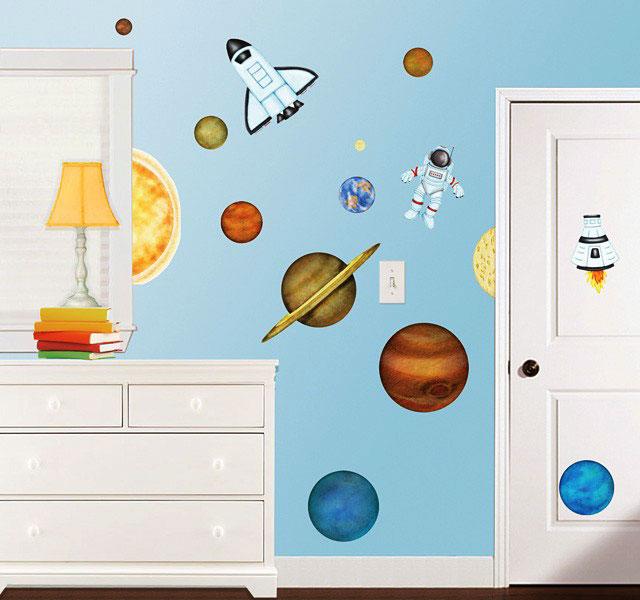 borders unlimited wandtattoo room fx wandsticker weltall. Black Bedroom Furniture Sets. Home Design Ideas