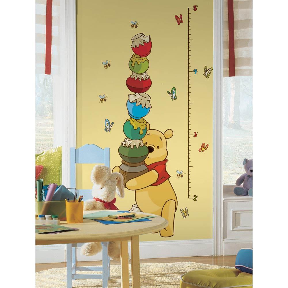winnie pooh kinderzimmer, roommates wandsticker messlatte winnie pooh und seine freunde | www, Design ideen