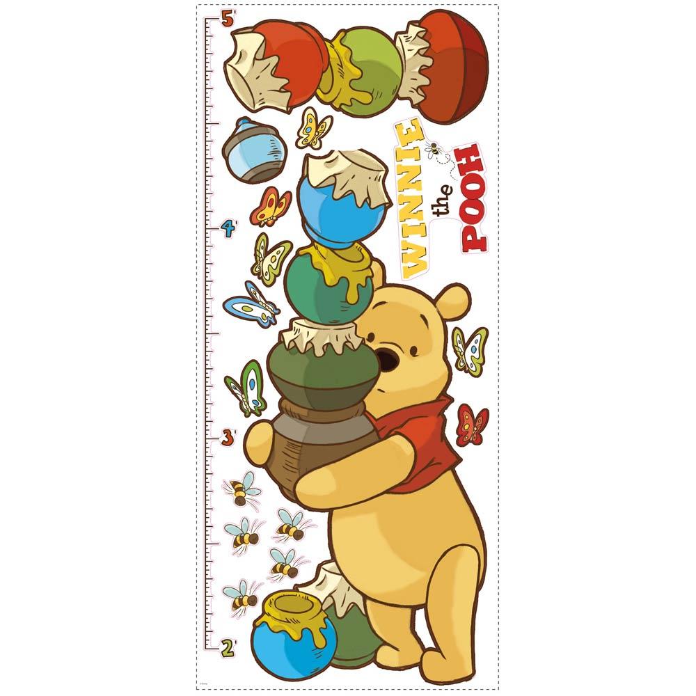 RoomMates Wandsticker Messlatte Winnie Pooh und seine Freunde | Rakuten