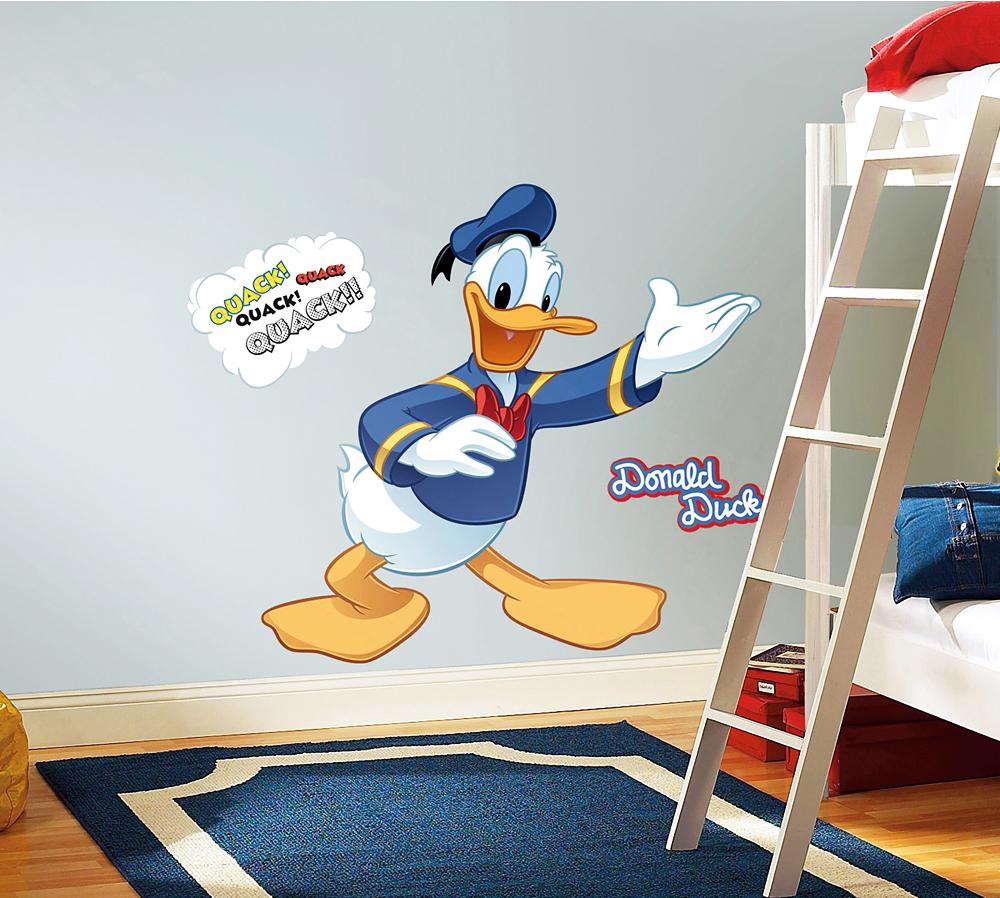 Roommates wandsticker wandtattoo disney donald duck www - Roommates wandsticker ...