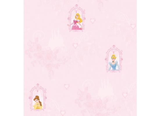 disney princess tapete m rchenschloss kinderzimmer www 4. Black Bedroom Furniture Sets. Home Design Ideas