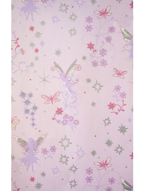 Tapete kinderzimmer fairies elfen feen pink www 4 for Kinderzimmer tapete