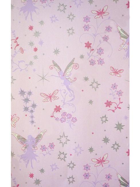 tapete kinderzimmer fairies elfen feen pink mit silber. Black Bedroom Furniture Sets. Home Design Ideas