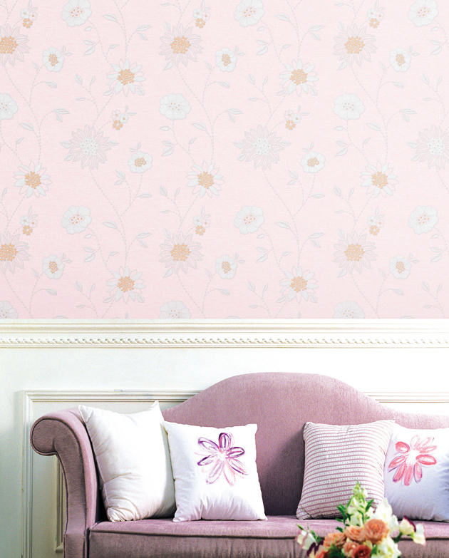 tapete selbstklebend dekofolie bl tenmotiv blumen bl ten. Black Bedroom Furniture Sets. Home Design Ideas