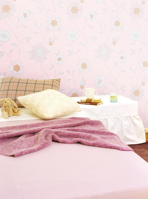 hyundae sheet tapete selbstklebend dekofolie bl tenmotiv vinyl abwaschbar www 4. Black Bedroom Furniture Sets. Home Design Ideas