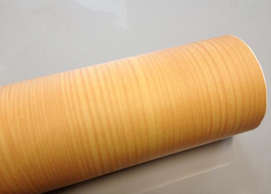 Hyundae sheet tapete selbstklebend holz struktur hellbraun for Dekofolie selbstklebend holzoptik