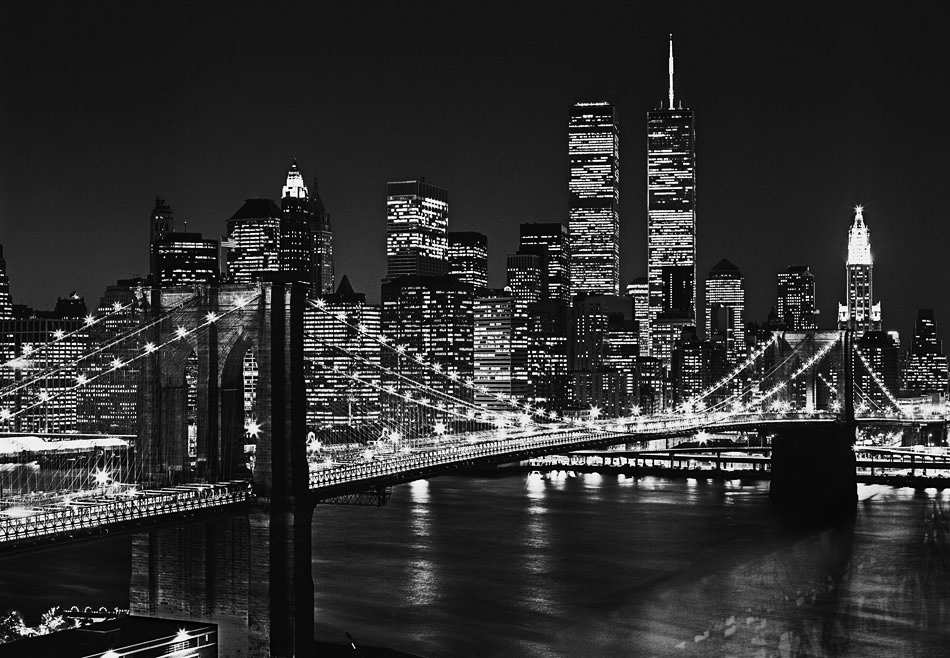 Wizard genius fototapete wandbild xl brooklyn bridge new - Wandbild new york ...