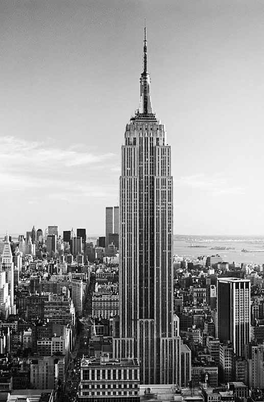 wandbild poster empire state building riesen fototapete. Black Bedroom Furniture Sets. Home Design Ideas