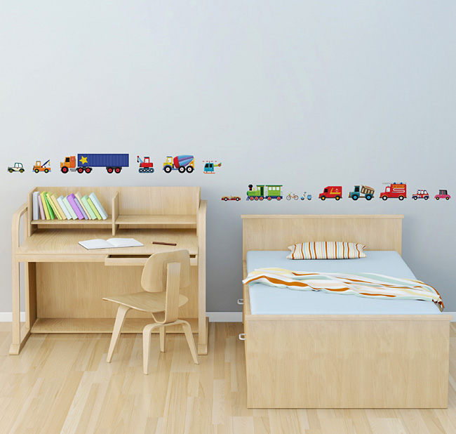 kinderzimmer feuerwehr look die neuesten innenarchitekturideen. Black Bedroom Furniture Sets. Home Design Ideas