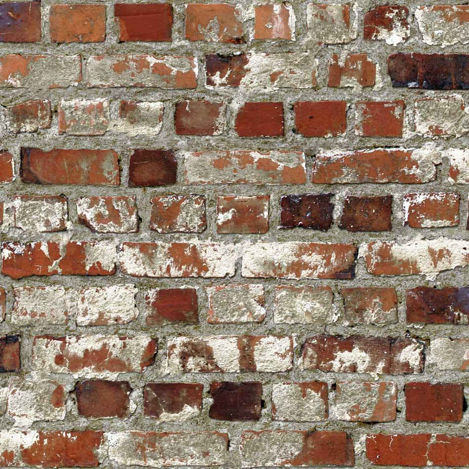 Tapete rote steinmauer dachboden tapeten for Steinmauer tapete