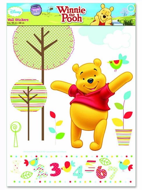 wandsticker disney winnie the pooh winnie the pooh. Black Bedroom Furniture Sets. Home Design Ideas