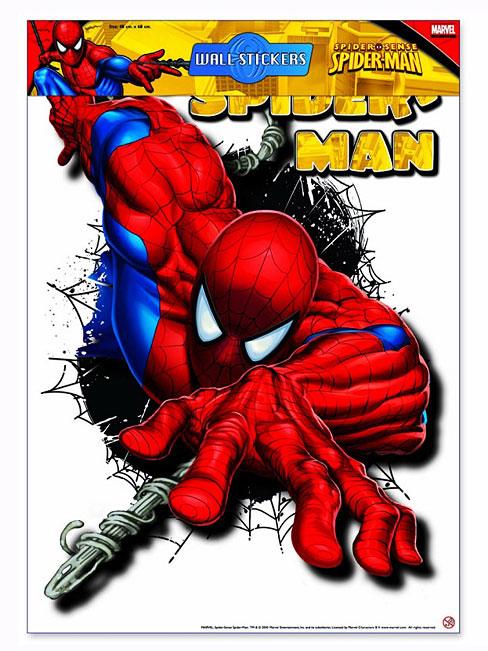 Wandsticker wandtattoo spiderman kinderzimmer spiderman 4 - Spinne im zimmer was tun ...