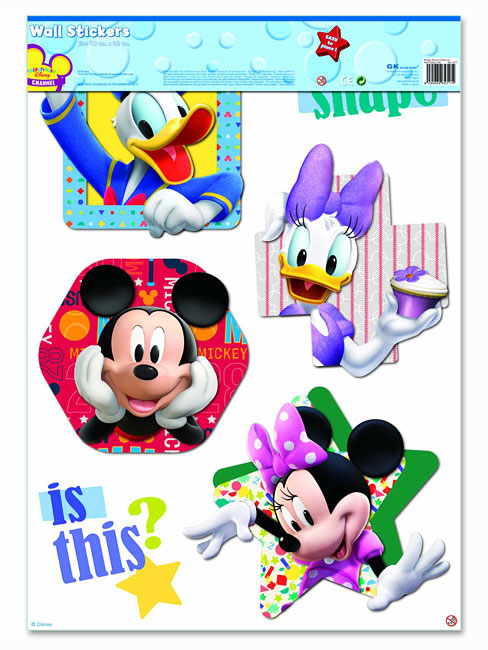 4 - Wandsticker mickey mouse ...