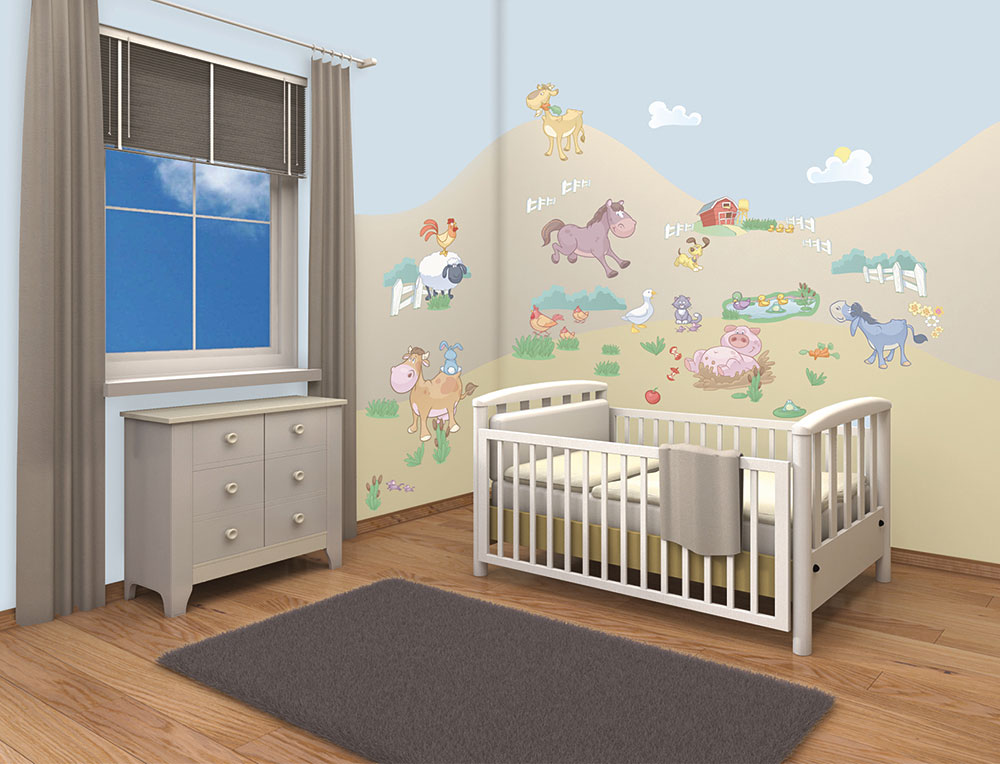 walltastic wandtattoo wandsticker kinderzimmer baby. Black Bedroom Furniture Sets. Home Design Ideas