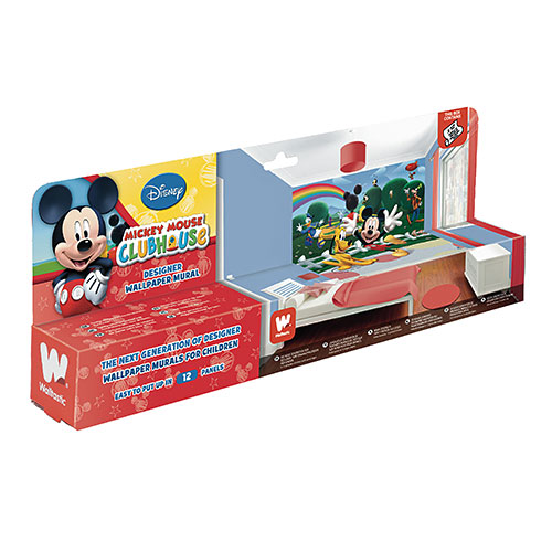 walltastic fototapete kinderzimmer disney mickey mouse. Black Bedroom Furniture Sets. Home Design Ideas