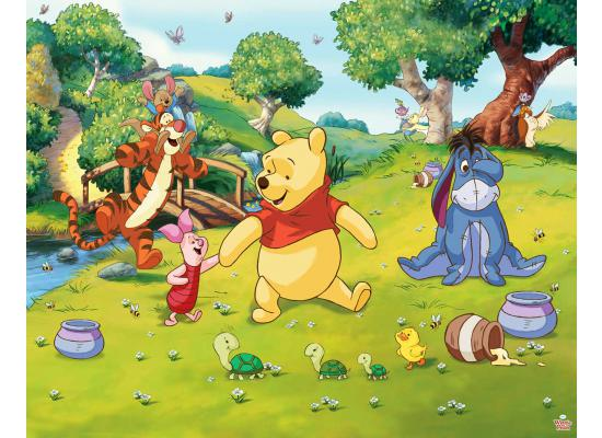 Fototapete Kinderzimmer Wandbild Winnie the Pooh-Walltastic Fototapete