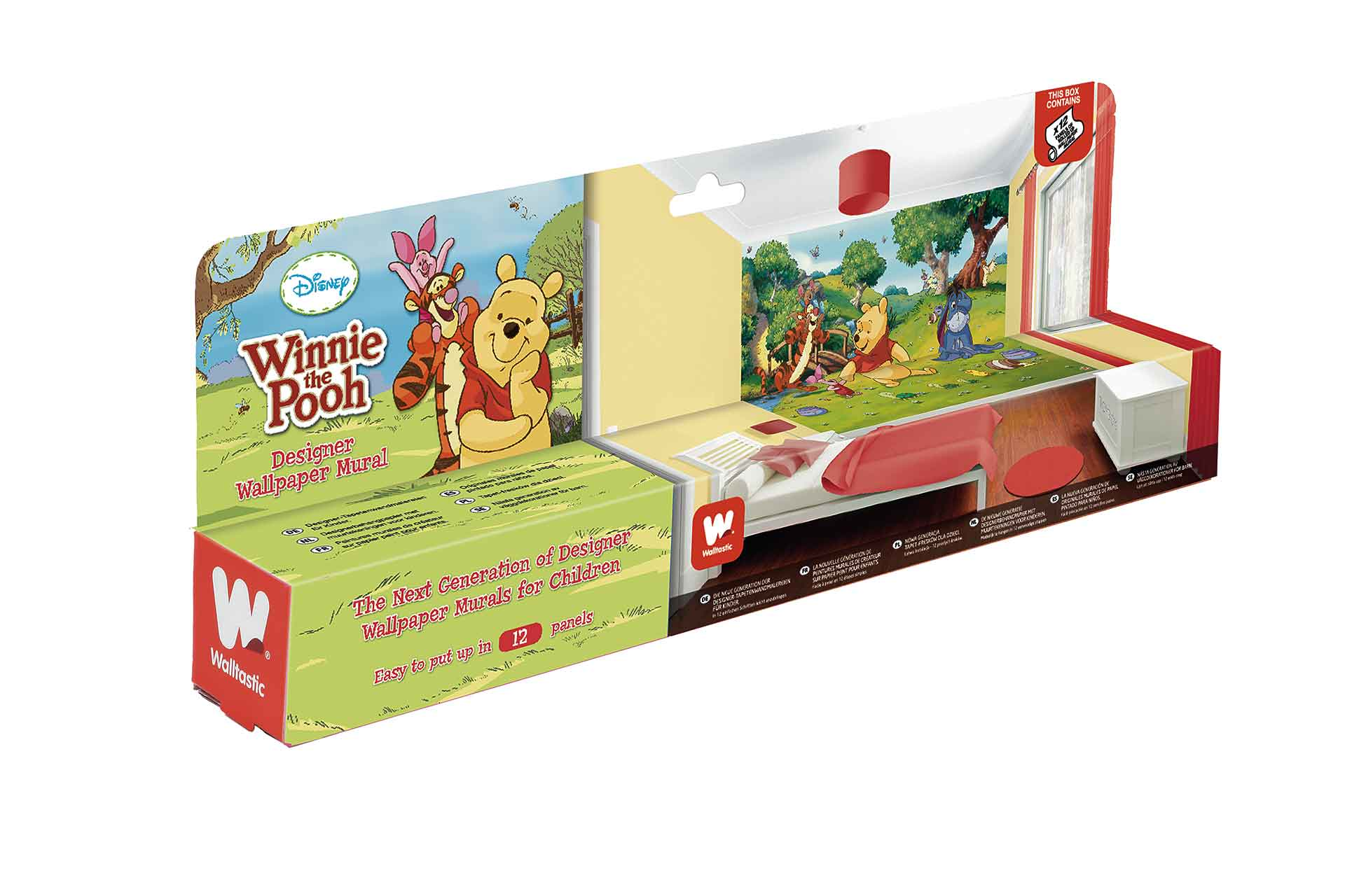 Walltastic Fototapete Kinderzimmer Winnie The Pooh