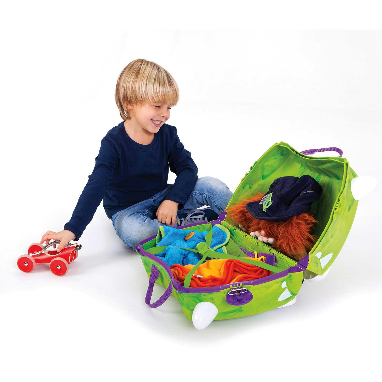 kinder trolley dinosaurier t rex rucks cke spielzeug. Black Bedroom Furniture Sets. Home Design Ideas
