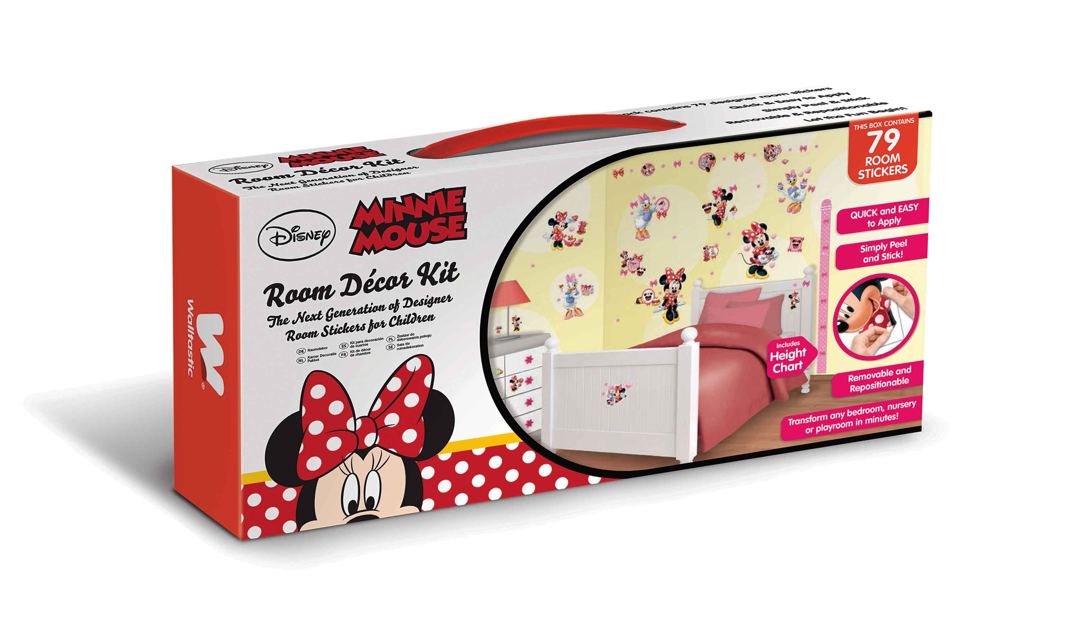 walltastic wandsticker kinderzimmer disney minnie mouse daisy duck ... - Minnie Mouse Kinderzimmer Deko