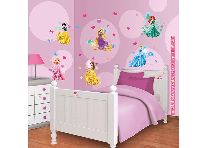 walltastic wandsticker kinderzimmer disney princess www. Black Bedroom Furniture Sets. Home Design Ideas
